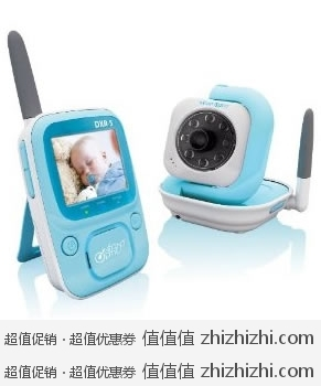 Infant Optics DXR-5 无线可视2.4GHz 婴儿监护器/监视器 带红外夜视 美国Amazon历史最低价$99.99 海淘到手约¥688