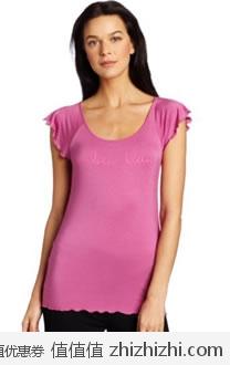 Calvin Klein 女士泡泡袖简约短袖T恤 美国Amazon 4.1折后$14.47 海淘到手约¥141