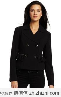 超值!美国高档女装品牌 Mac & Jac 女士时尚外套 美国Amazon 1.5折后$19.88 海淘到手约¥176