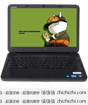 戴尔(DELL)Ins14V-586B 14英寸笔记本电脑(i5-2450M 500G 2G HD7450M 1G独显 D刻 无线 DOS)黑色 高鸿商城价格3349 赠戴尔14寸原装笔记本包
