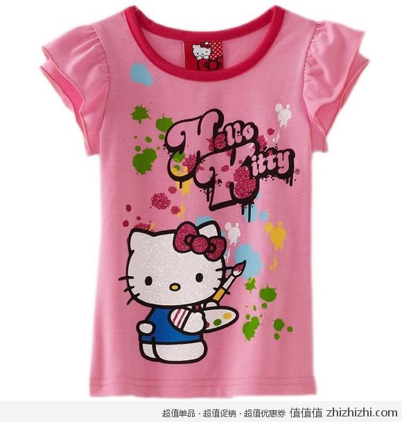 Hello Kitty 女宝宝T恤 美国Amazon 9.09美元