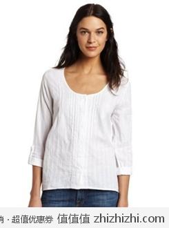 Calvin Klein 女士中袖上衣(仅白色) 美国Amazon 4.3折后$29.93 海淘到手约¥240