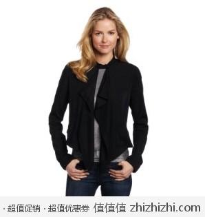 超值!Calvin Klein 女士机车夹克 美国Amazon折后最低$64.79 海淘到手约¥454