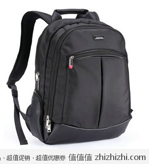 Goldmine P230 新亚太双肩笔记本电脑包 黑色 15英寸 易迅网上海仓 99包邮