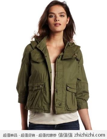 超值!G-Star 女士纯棉时尚夹克 美国Amazon$85.5 海淘到手约¥582