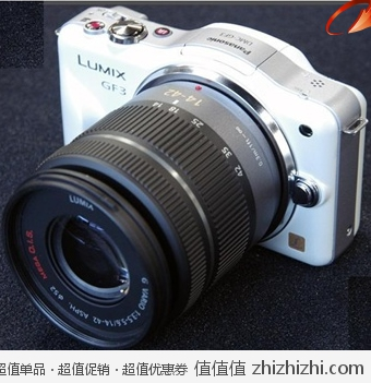 松下(Panasonic) GF3KGK 单电套机 白色(14mm-42mm变焦头一支) 京东2199包邮
