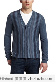 Calvin Klein 男士莫尔代拉链针织衫,美国Amazon $50.75,海淘到手约¥365