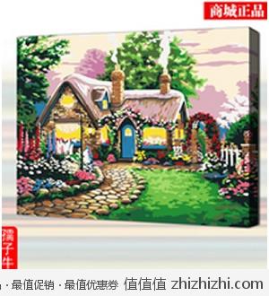 DIY客厅手绘装饰油画40*50 天猫15.99包邮