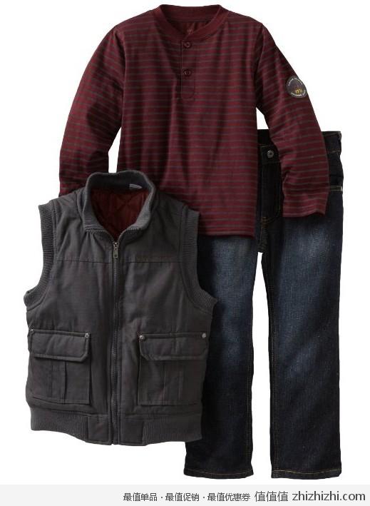 Calvin Klein 男宝春秋三件套,美国Amazon折后最低 $28.62,海淘到手约¥228