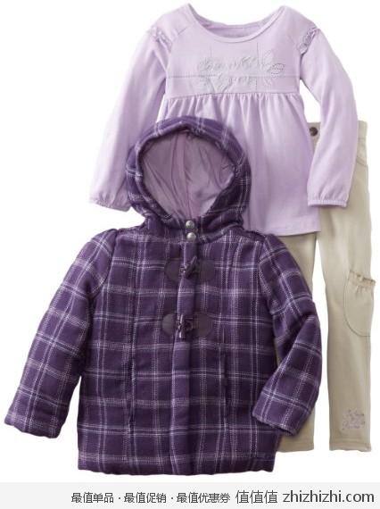 Calvin Klein 宝宝秋冬三件套,美国Amazon折后最低 $24.98,海淘到手约¥205