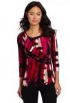 Calvin Klein 女士个性褶皱长袖上衣,美国Amazon折后最低 $25.55,海淘到手约¥209