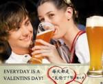 EICHBAUM 瓦伦丁小麦啤酒(5L桶装) 京东商城价格108包邮,买2桶,赠凯撒西蒙小麦白啤酒500ml*6听!