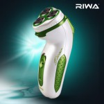 RIWA 雷瓦 充电式刮胡刀 电动旋转三刀头剃须刀 RA-99A 亚马逊中国价格29包邮