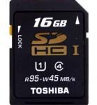 东芝 16G SDHC(UHS-I)超极速存储卡 苏宁70包邮