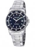 MOMO Design MD093-E-01BK-MB 女士镶钻蓝宝石不锈钢石英腕表,美国Amazon $379.99,海淘到手约¥2410