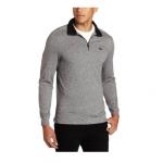 <font color=#94000c>反季</font>:Calvin Klein 男士纯棉半拉链针织衫,美国Amazon折后最低 $18.98,海淘到手约¥166