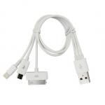 CRAB MICRO USB/苹果/雷电三合一充电数据线 新蛋网价格16.8