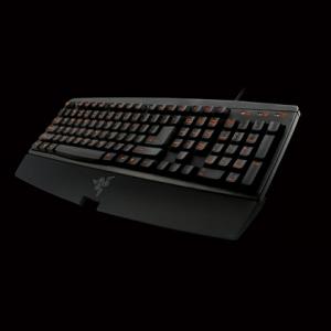 Razer 雷蛇 橘仓金蛛 Aurantia 游戏键盘 工包版 易迅网149包邮