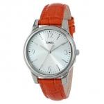 Timex T2P093TN 女士鳄鱼皮纹表带手表 美国Amazon价格16.11美元 凑单到手约97RMB