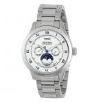 Timex T2N291AB 男士日历全显自动不锈钢手表 美国Amazon价格84.28美元 海淘到手约567RMB