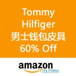 Amazon:Tommy Hilfiger 男士钱包皮具60% Off
