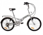 "Stowabike 20"" City Bike 折叠6速禧玛诺自行车 美国Amazon价格"