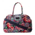 Tommy Hilfiger 汤米·希尔费格 女士印花旅行袋 Amazon价格