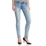Juicy Couture 橘滋女士磨白破洞紧身牛仔裤 美国 Amazon