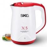 SKG 8039 双层防烫电热水壶 1.5L
