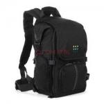 森林绿(Forest Green)ENA-301 休闲时尚双肩摄影包(黑色)