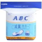 ABC 减翼·简易 日用超极薄倍柔干爽网面卫生巾 8片