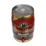 百帝王(Benedikeiner)小麦黑啤酒5L