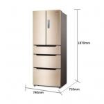 海信 BCD-370WTD/Q 多门风冷冰箱370L