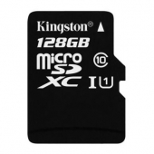 金士顿(Kingston)128GB  Class10 UHS-I TF存储卡