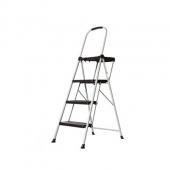 乐瑞亚洲11619PBL2 三层铁艺折叠梯子