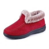 尚美琳中年女士加绒保暖棉鞋