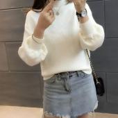 黎雪儿韩版女装套头打底针织衫