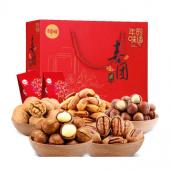 百草味 喜团圆坚果礼盒1430g/盒