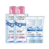 L'OREAL  欧莱雅 三合一卸妆洁颜水 倍润型 250ml*2