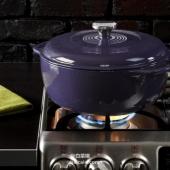 Lodge 洛奇 6夸脱搪瓷铸铁荷兰煮锅 Prime会员免费直邮含税到手新低¥427