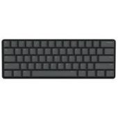 ikbc 全新poker2 Type-C 61键迷你机械键盘PBT键帽 原厂Cherry轴 黑色 黑轴