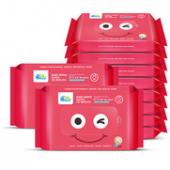 Fivetrucks婴儿手口湿巾10X10包 19.9元包邮(29.9-10券)