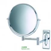 Jerdon 5倍放大 8英寸双面壁挂式化妆镜 Prime会员凑单免费直邮到手新低¥195