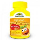Nature's Way佳思敏 儿童维生素C+锌软糖 60粒