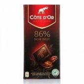 COTE D'OR克特多金象 真味86% 纯可可巧克力100g*12件