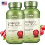 美国健安喜GNC蔓越莓精华胶囊效果怎么样?