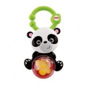 Fisher-Price 费雪 Y6583 缤纷动物之熊猫摇铃