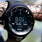 SUUNTO 颂拓 Core 深黑户外手表 新低$144.99( $154.99-10) 到手¥1040
