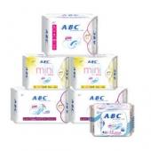ABC 绵柔纤薄经期护理日夜组合 6包装