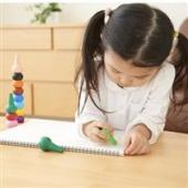 AOZORA 儿童粉色系彩色蜡笔 6支装